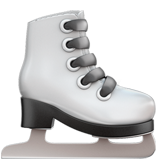 How Ice Skate emoji looks on Apple.