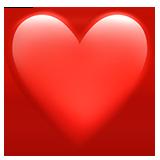 Rødt hjerte Emoji ❤️
