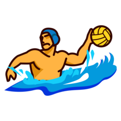 How Person Playing Water Polo emoji looks on Emojidex.