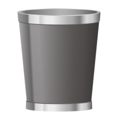 How Wastebasket emoji looks on Emojidex.