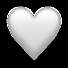 White Heart Emoji 🤍