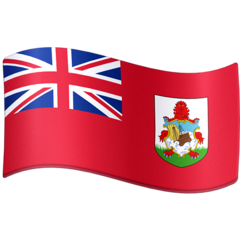 How Flag: Bermuda emoji looks on Facebook.