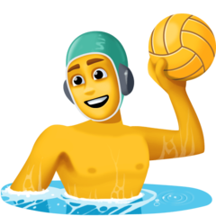How Person Playing Water Polo emoji looks on Facebook.