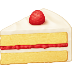 How Shortcake emoji looks on Facebook.