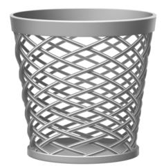 How Wastebasket emoji looks on Facebook.