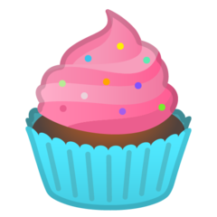 How Cupcake emoji looks on Google.