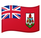 How Flag: Bermuda emoji looks on Google.