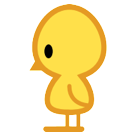 How Baby Chick emoji looks on Htc.