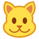 How Cat Face emoji looks on Htc.