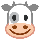 How Cow Face emoji looks on Htc.