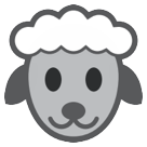 How Ewe emoji looks on Htc.
