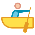 How Person Rowing Boat emoji looks on Htc.