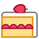 How Shortcake emoji looks on Htc.