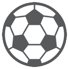 How Soccer Ball emoji looks on Htc.