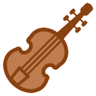 How Violin emoji looks on Htc.