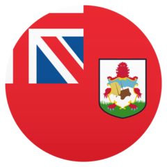 How Flag: Bermuda emoji looks on Joypixels.
