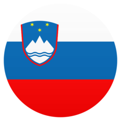 How Flag: Slovenia emoji looks on Joypixels.