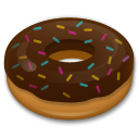 How Doughnut emoji looks on Lg.