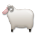 How Ewe emoji looks on Lg.