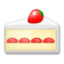 How Shortcake emoji looks on Lg.