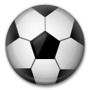 How Soccer Ball emoji looks on Lg.