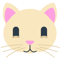 How Cat Face emoji looks on Mozilla.