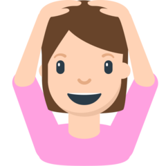 How Person Gesturing Ok emoji looks on Mozilla.