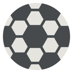 How Soccer Ball emoji looks on Mozilla.