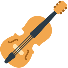 How Violin emoji looks on Mozilla.