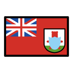 How Flag: Bermuda emoji looks on Openmoji.