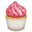 How Cupcake emoji looks on Samsung.