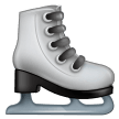 How Ice Skate emoji looks on Samsung.