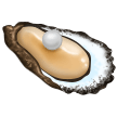 How Oyster emoji looks on Samsung.