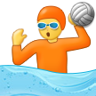How Person Playing Water Polo emoji looks on Samsung.