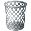 How Wastebasket emoji looks on Samsung.