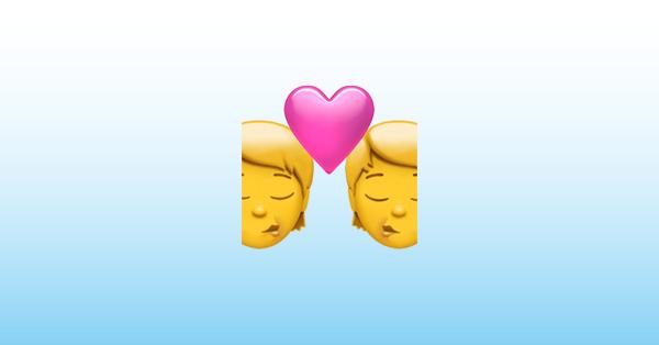 Kuss emoji tastatur