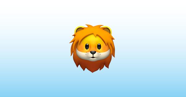 león emoji 🦁