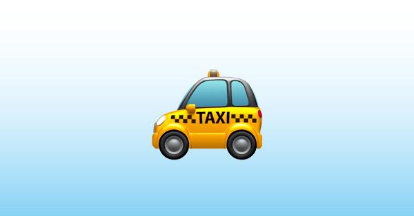 taxi emoji 🚕