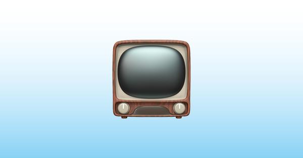 televisión emoji 📺