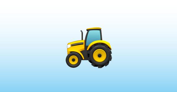 traktor emoji 🚜