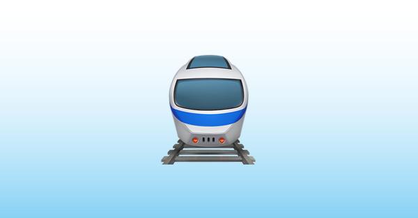 tren emoji 🚆