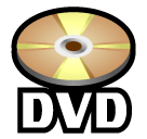 How Dvd emoji looks on Softbank.