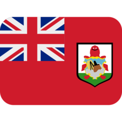 How Flag: Bermuda emoji looks on Twitter.
