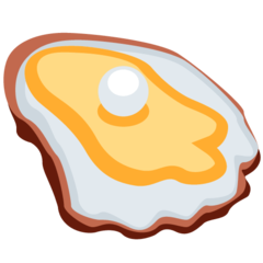 How Oyster emoji looks on Twitter.